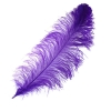 "Ostrich Wing Feathers 18-24"" Premium Quality 1/2 Lb Purple"